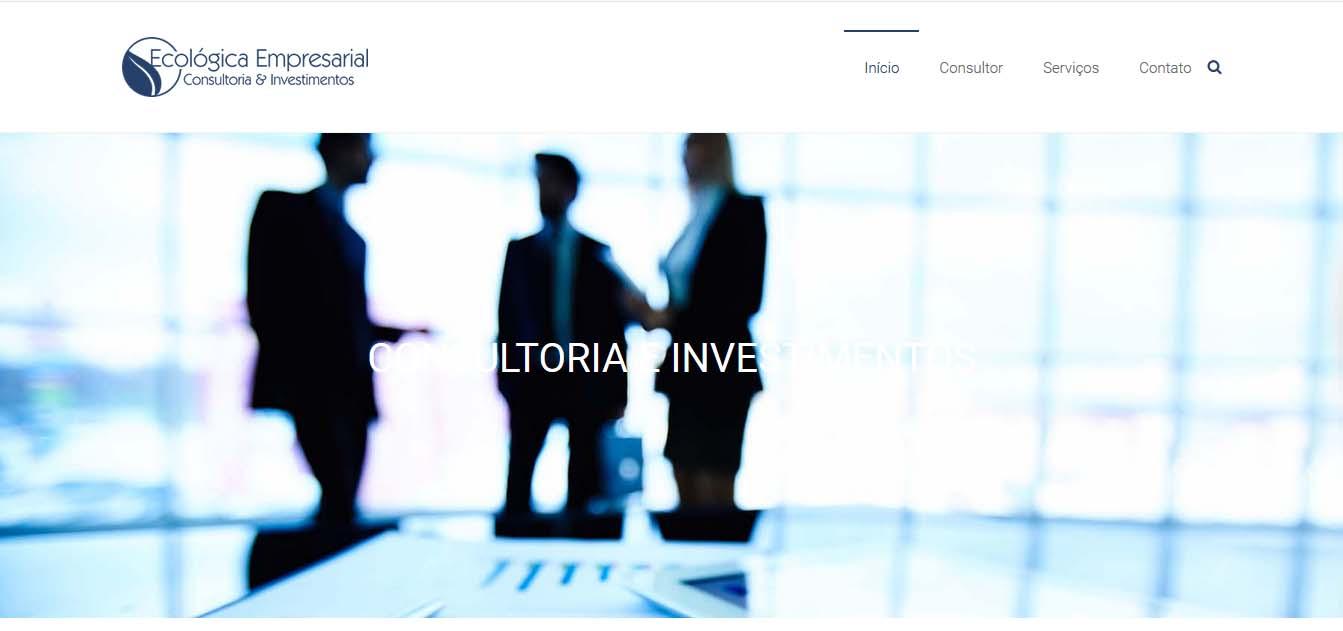 desenvolvimento e criação do website ecologicaempresarial.com.
