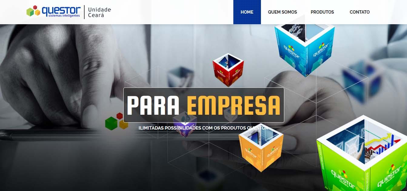 desenvolvimento e criação do website questorce.com.br