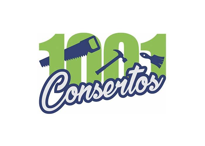 logomarca 1001 consertos