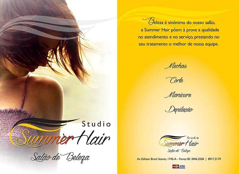 panfleto Studio Summer Hair